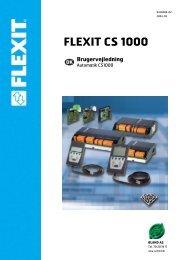 FLEXIT CS 1000 Brugervejledning - Øland Online