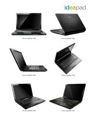 Lenovo IdeaPad Y430 Lenovo IdeaPad Y430 Lenovo ... - Lenovo | US