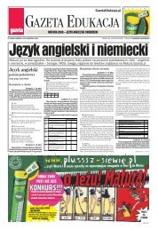 GAZETA EDUKACJA - Gazeta.pl