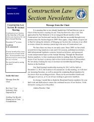 Vol 3 Issue 1 Sept 2012 - State Bar Of Nevada
