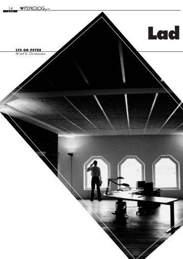 LYS OG PSYKE Af Leif B. Christiansen - Elbo