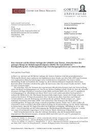 Antwort B.Werse - des Deutschen Hanf Verband