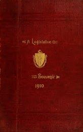 A Souvenir of Massachusetts legislators