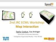 Map Interaction - Technische Universität München