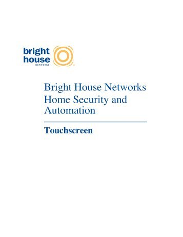 Bright House Networks Home Security and Automation