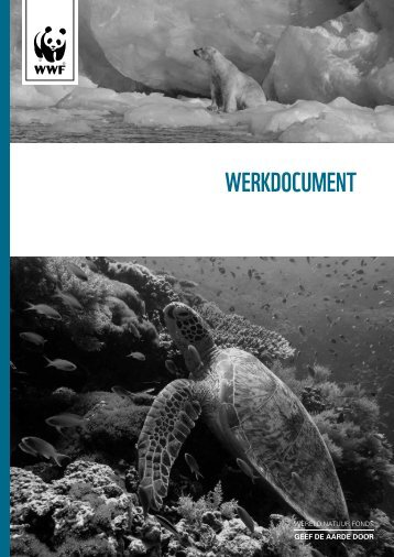 Werkdocument - Wereld Natuur Fonds