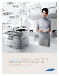 imagine workgroup laser MFPs that work as hard as you do. - Prointec