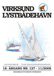 klubblad 11/2008 - Virksund Lystbådehavn