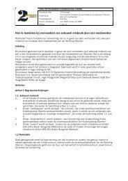 Voorbeeldprotocol seksueel misbruik door medewerker - NVTK