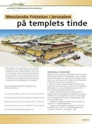 på templets tinde - Selskab for Bibelsk Arkæologi