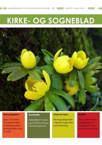 Kirkebladet marts-maj 2013 - Haraldstedkirke