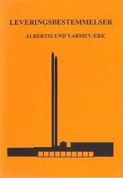 LEVERINGSBESTEMMELSER - Albertslund Forsyning