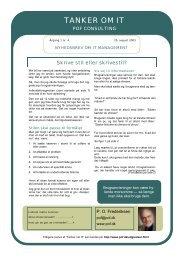 tanker om it nr. 1-4.pdf - POF IT Management Consulting