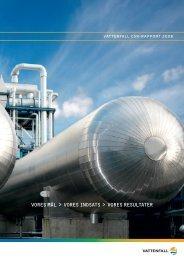 Vattenfall CSR-Rapport 2008