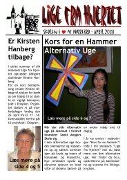 Kors for en Hammer Alternativ Uge - Sankt Ansgars Skole
