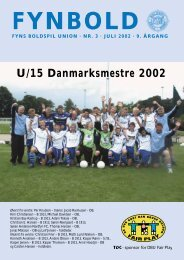 U/15 Danmarksmestre 2002 - DBU Fyn