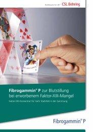 Fibrogammin® P - CSL Behring