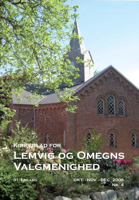 Nr.4 2008 Oktober November December - Lemvig og Omegns ...