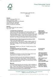 Bestyrelsesmøde, 12.11.2010 Referat af bestyrelsesmøde ... - FSC