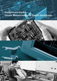 verkstads o. mekatronik-2/S - Devex
