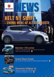 HELT NY SWIFT - Suzuki.dk