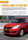 HELT NY SWIFT - Suzuki.dk - Page 4