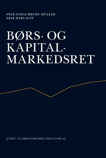 BØRS- OG KAPITAL- MARKEDSRET