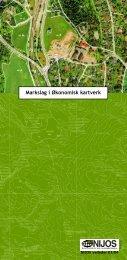 Markslag i Økonomisk kartverk - Skog og landskap