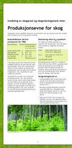 Markslag i Økonomisk kartverk - Skog og landskap - Page 6