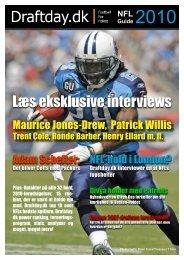 Læs eksklusive interviews - Draftday.dk