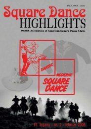Highlights nr. 1 - 2006 - Danish Association of American Square ...