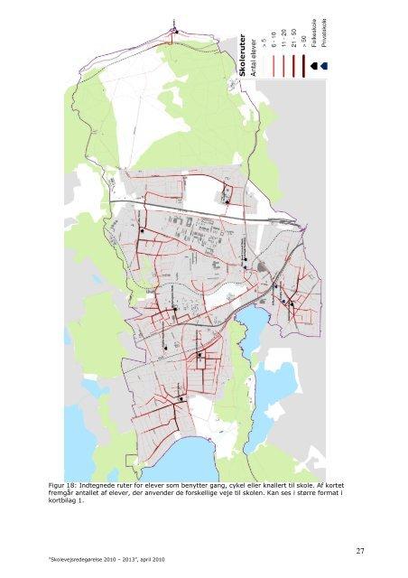 Skolevejsredegørelse 2010 - Lyngby Taarbæk Kommune