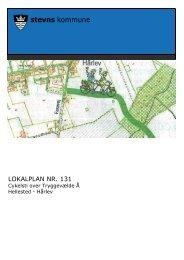 Lokalplan nr. 131 Cykelsti over Tryggevælde Å