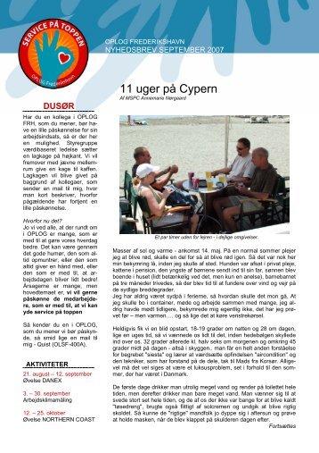 11 uger på Cypern