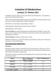 Invitation til Oktobershow(1).pdf - Welsh Pony & Cob Avlen i Danmark