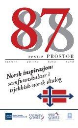 Norsk inspirasjon : samfunnskultur i tsjekkisk-norsk dialog - NROS