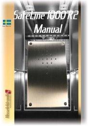 Hisselektronik Manual Safeline 1000R2 sve - Hissmekano