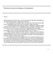 tekster om fred fra forskjellige tradisjoner - Norges Kristne Råd