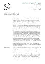 Formandens beretning 2012 - Klubben for Brugere og Hjælpere i ...