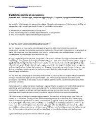 1. Hvordan kan IT styrke videndeling ... - e-ledelse