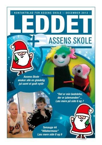Leddet december 2012 - Assens skole