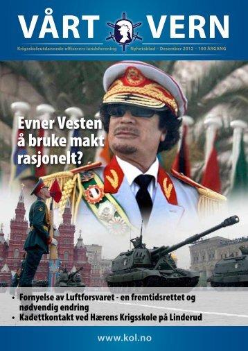 Medlemsblad_files/Vaart Vern Des. 2012.pdf - Krigsskoleutdannede ...
