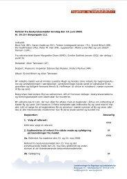 Resolution om begrænsning i højhusbyggeri - Landsforeningen for ...