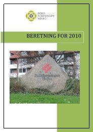 BERETNING FOR 2010 - Boligkontoret Aarhus