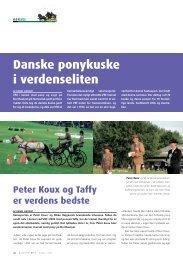Danske ponykuske i verdenseliten - Hestemagasinet.dk