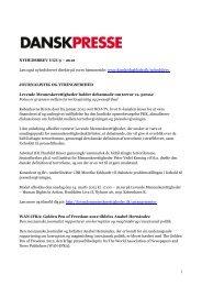 Nyhedsbrevet Dansk Presse nr. 9 - Danske Dagblades Forening