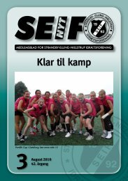 Klar til kamp - SEIF - Strandby-Elling Idrætsforening