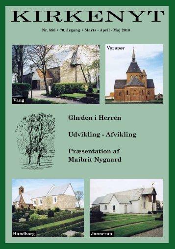 KIRKENYT - Hundborg kirke