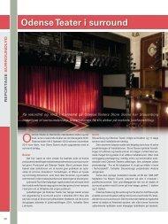 Odense Teater i surround - Stouenborg