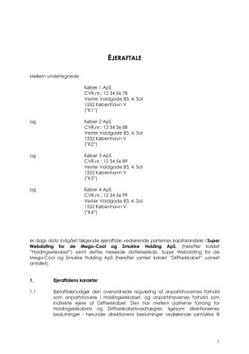 EJERAFTALE - CPH Law Firm